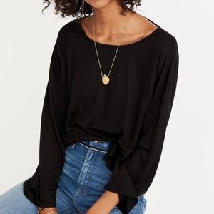 Madewell Libretto Wide Sleeve Boxy Loose Top